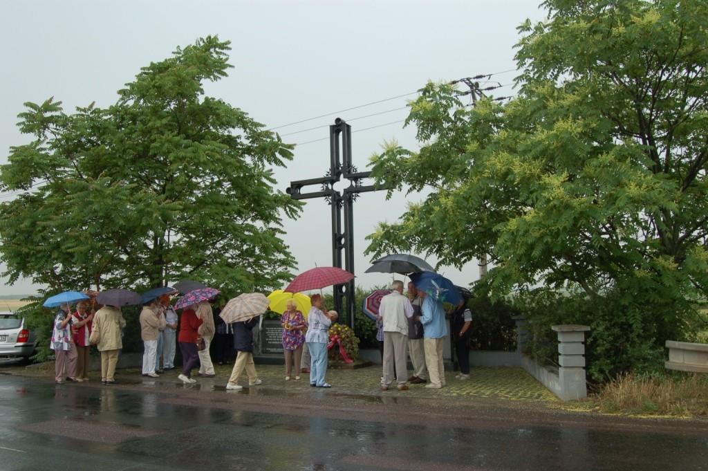 Ein weiterer Gedenkakt findet am Mahnmal in Pohrlitz statt