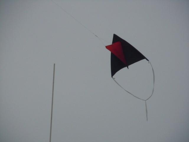 Etwas Wind läßt auch furchterregende Drachen steigen