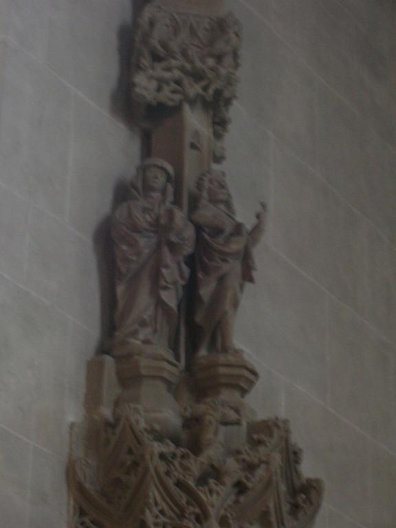 Stuttgart - Schwieberdingen - Zwei Engel auch von Anton Pilgram ?