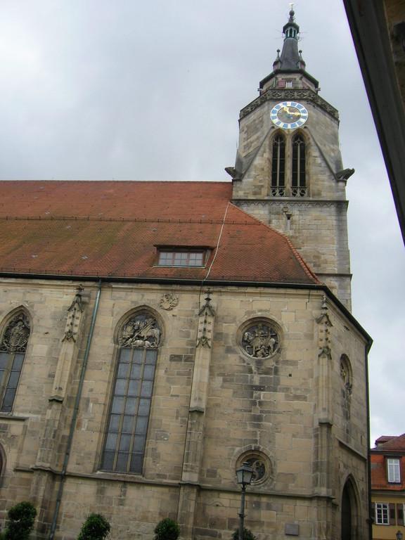 Tübinger Stiftskirche - Wirkungsort Anton Pilgrams ?