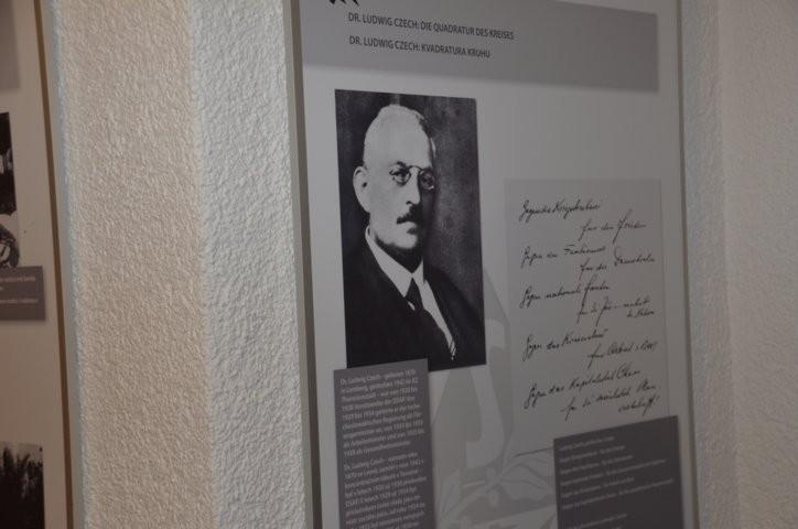 Erinnerungstafel an den Brünner Dr. Ludwig Czech