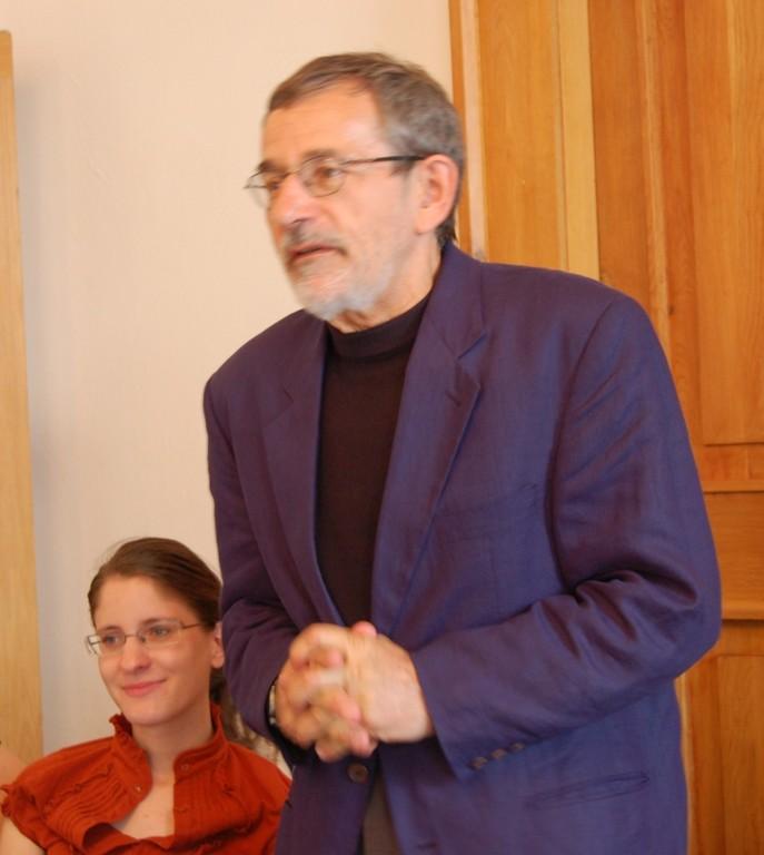 """Die Konferenz """"Berühmte Persönlichkeiten im Deutschen Haus in Brünn"""" wird von Professor Dr. Štědroň eingeleitet"""