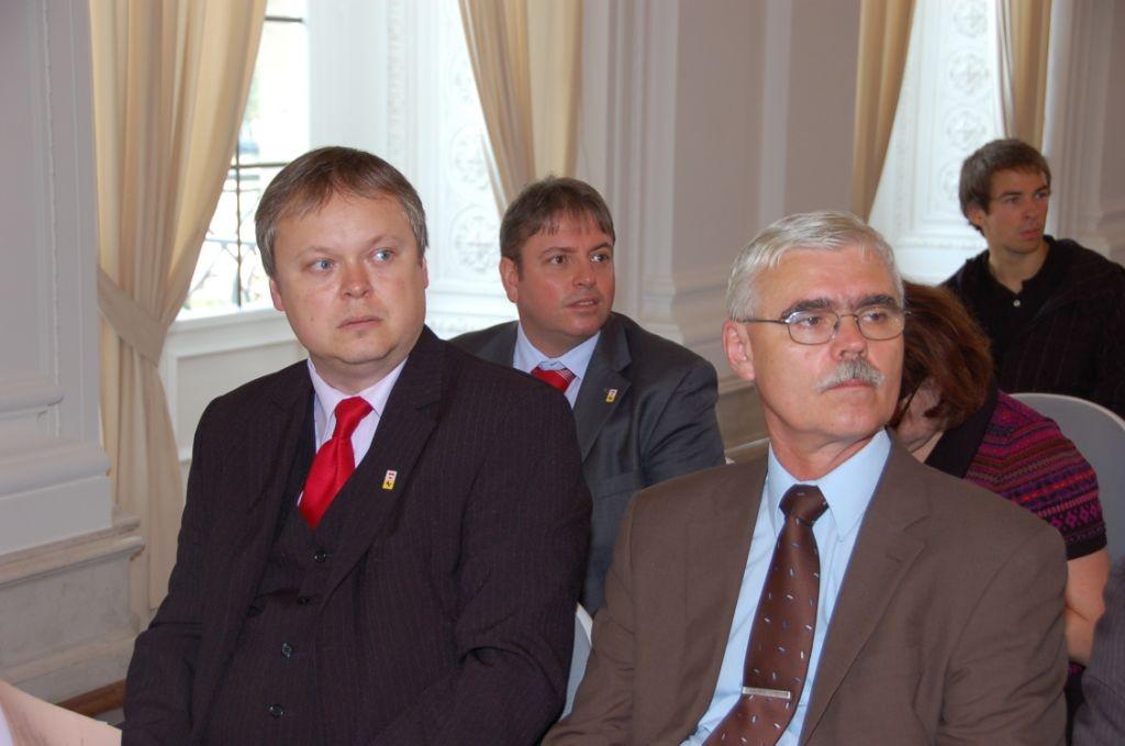 Herr Robert Kudělka, Referat fúr Aussenbeziehungen der Stadt Brünn