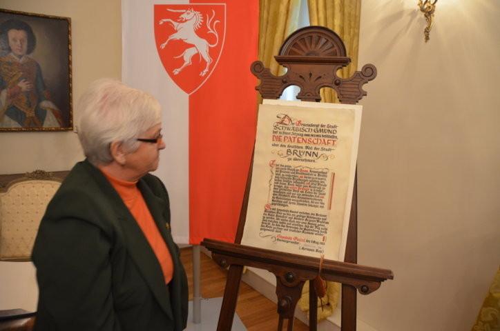 Frau Rotraut Pfaff, BRUNA Schorndorf