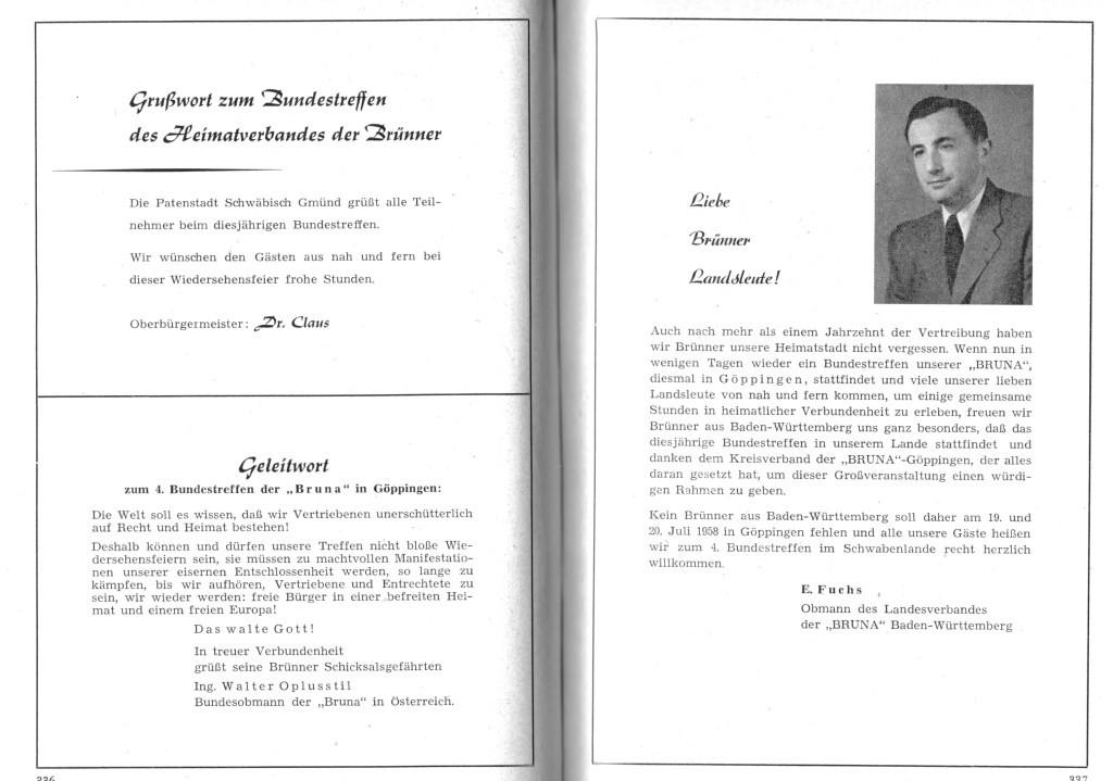 Treffen 1958 Göppingen