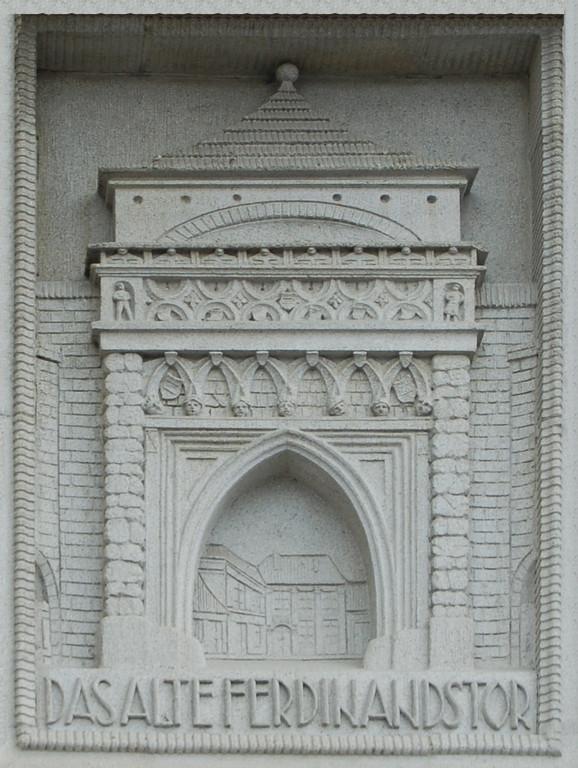 Das ehemalige Judentor in Brünn