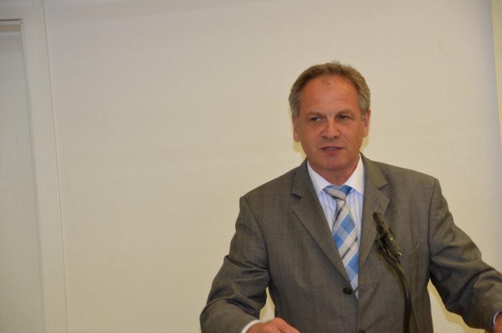 Der Innenminister Baden-Württemberg Reinhold Gall
