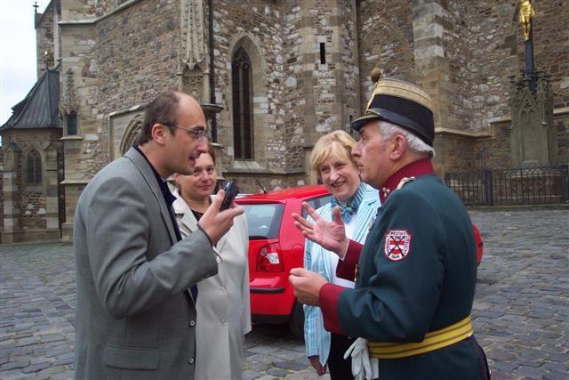 Dr. Moravcík und Vlastimil Schildberger