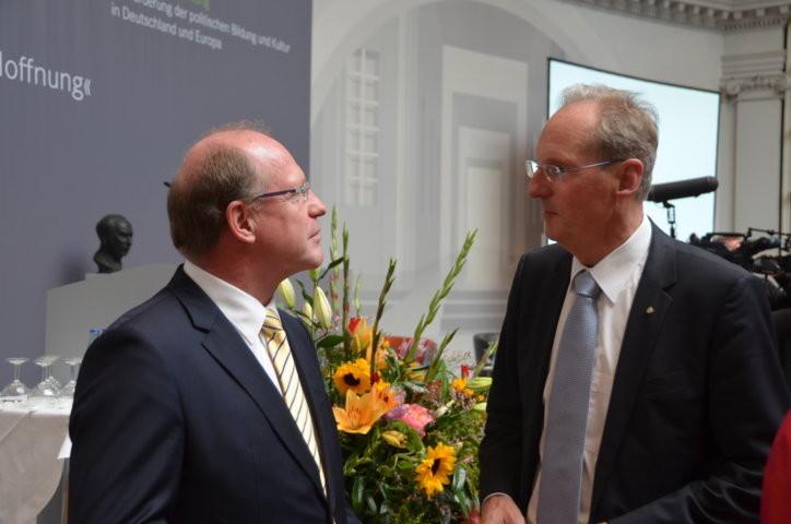 Der ehemalige Oberbürgermeister der Stadt Stuttgart, Dr. Wolfgang Schuster
