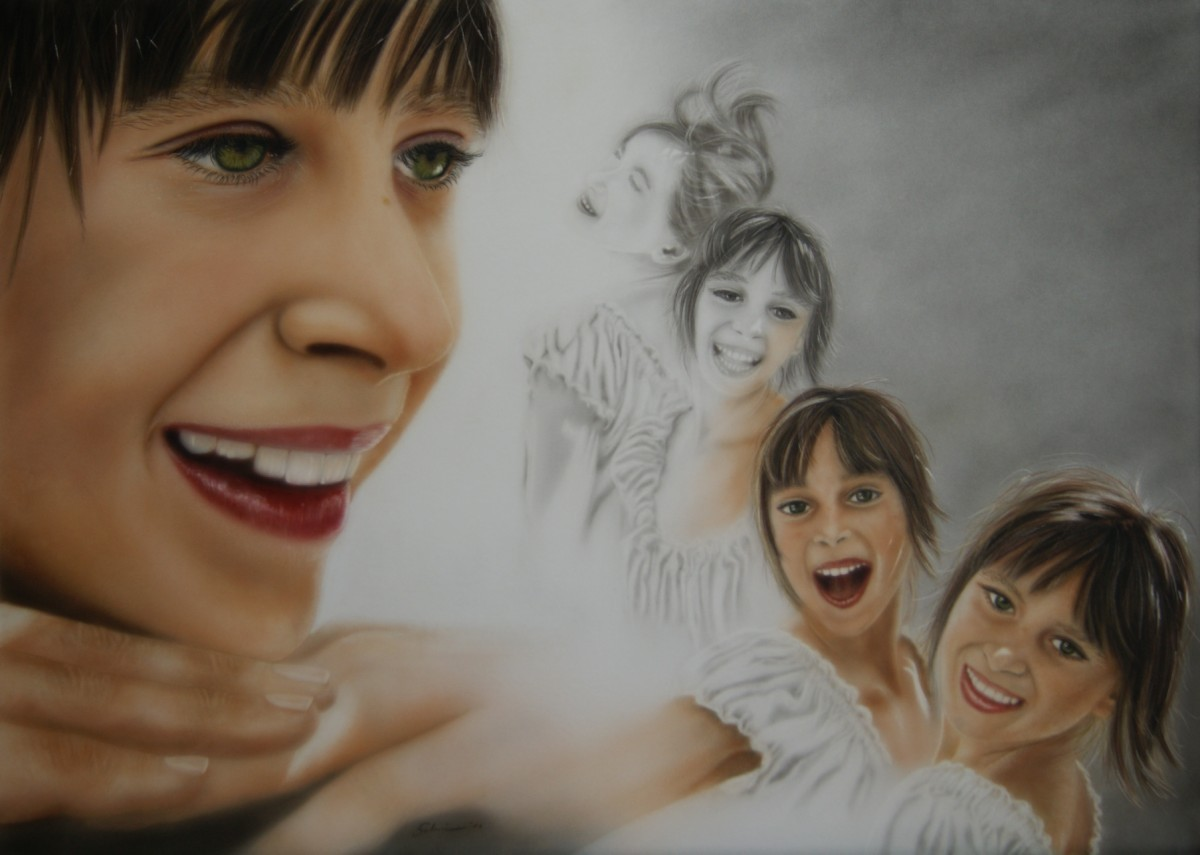 """Lea"" Airbrushkarton 50 x 70 cm"