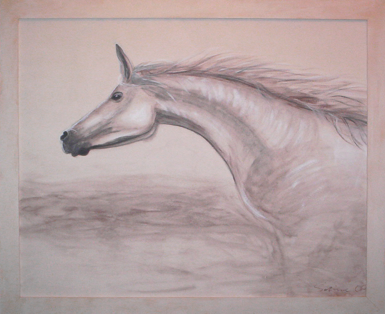"""Spirit"" Holzplatte 140 x 120 cm"