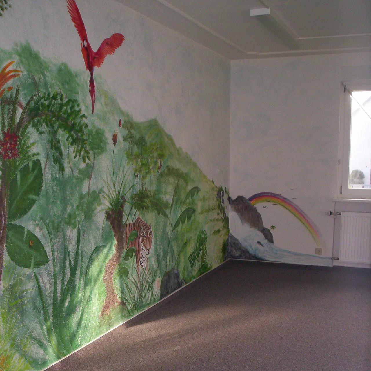 Urwald im Kindergarten