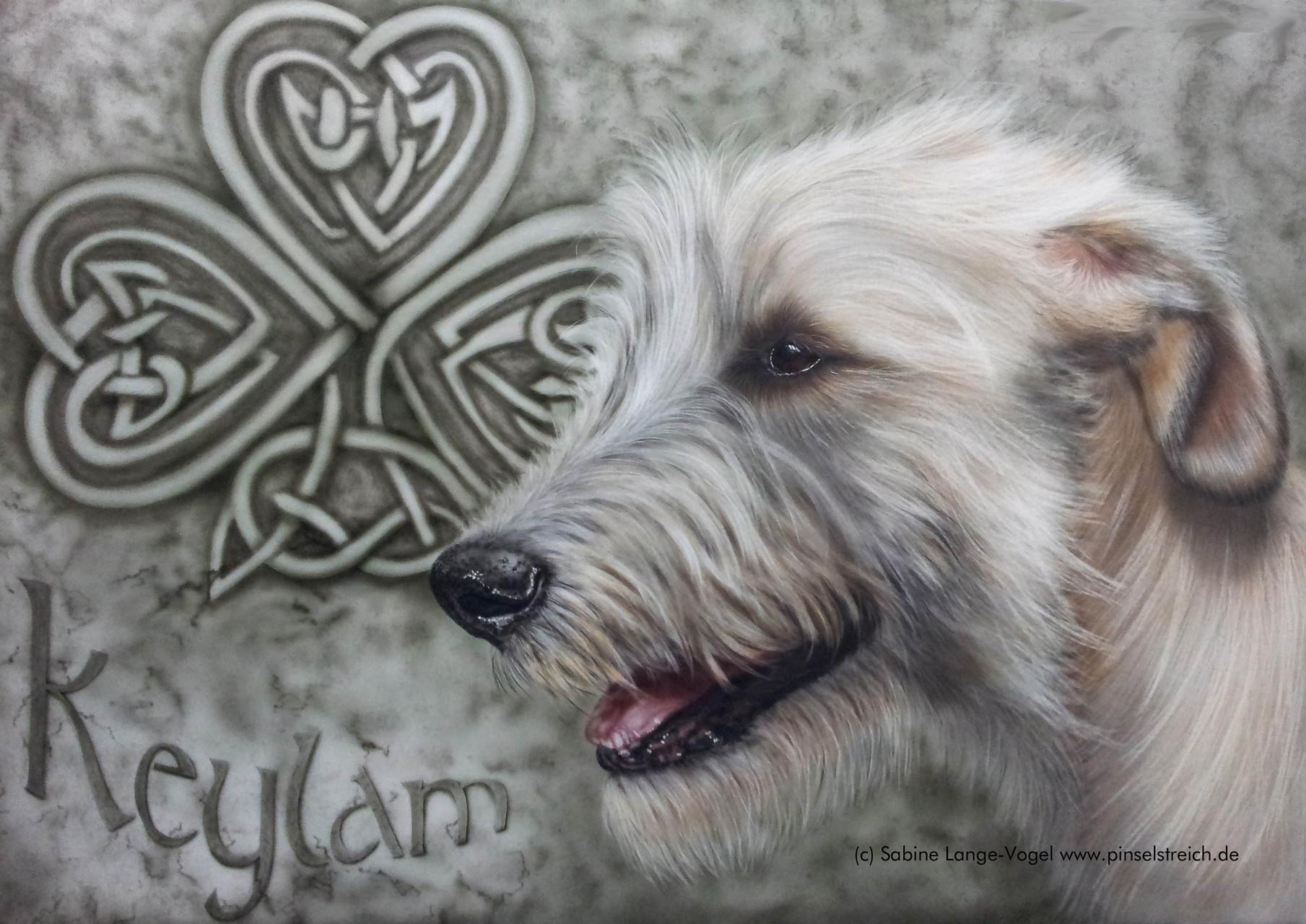 """""""Keylam""""  Airbrushkarton ca. 50 x 70 cm"""