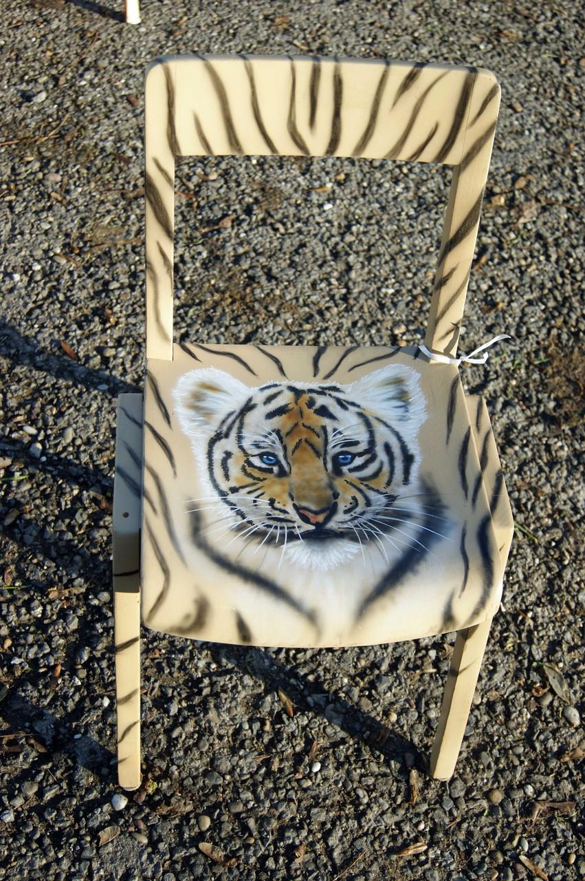 Kinderstuhl Tiger-Baby