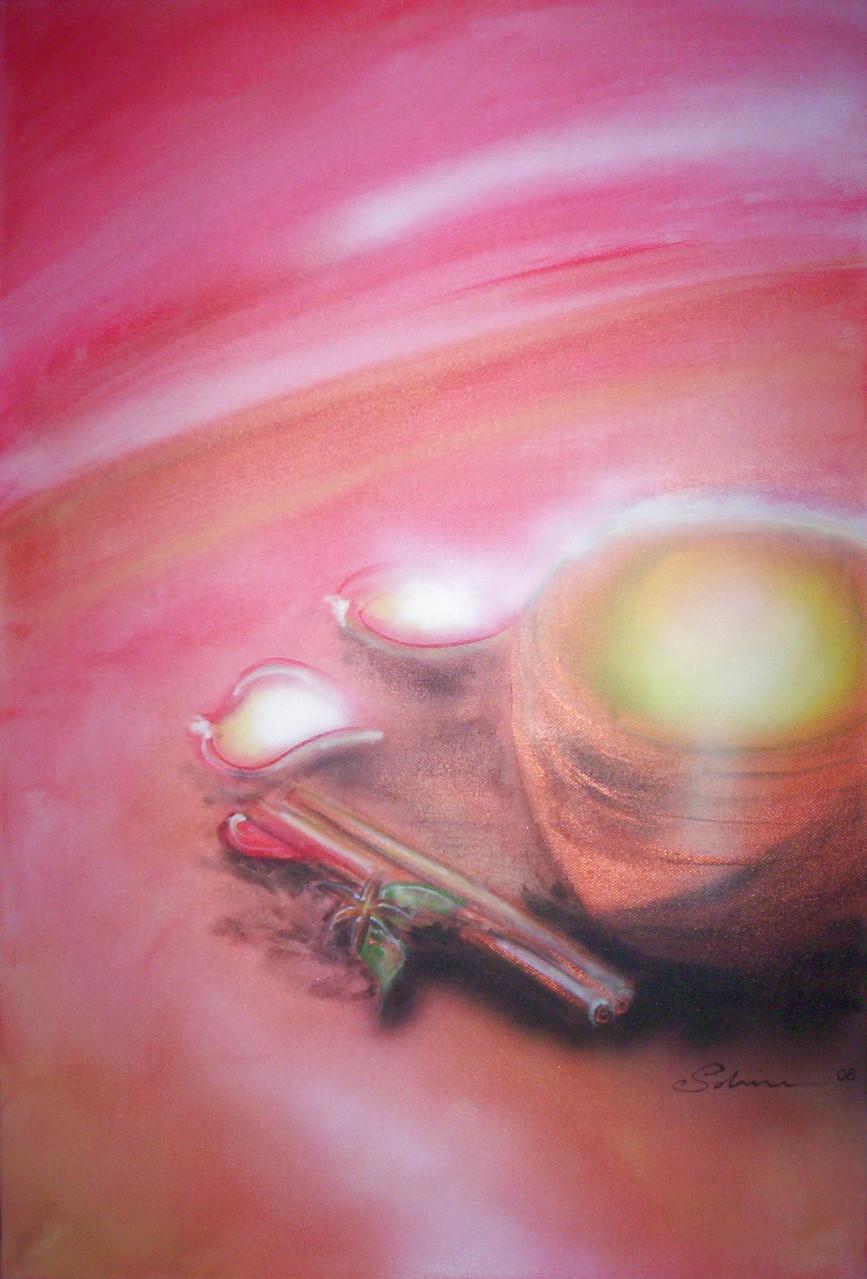 """""""Energy"""" Leinwand 60 x 40 cm"""