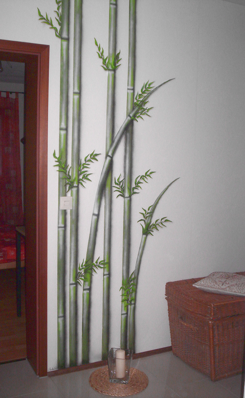 Bambus im Flur