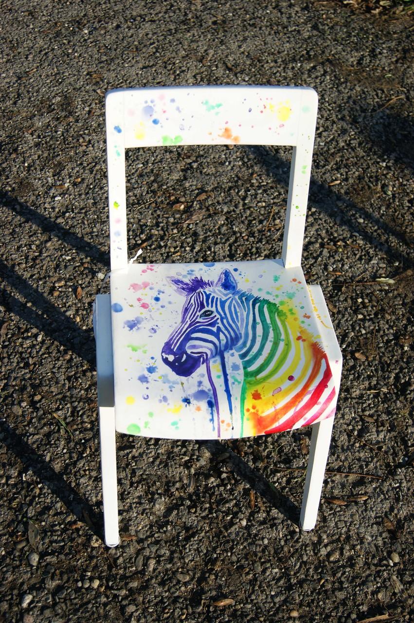 Kinderstuhl Zebra