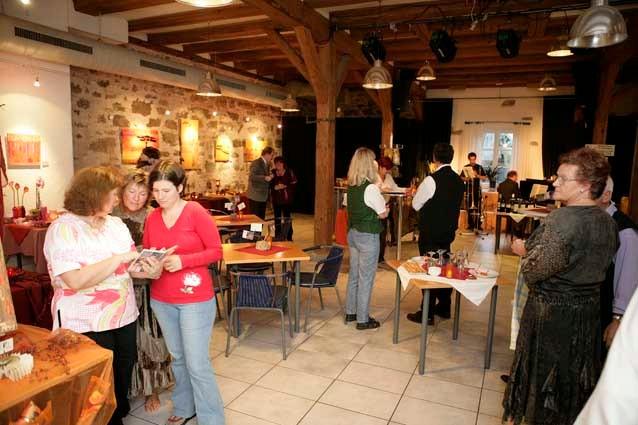2006 Meine erste Ausstellung, Zehntscheune, Nähe Rothenburg o.d.T.