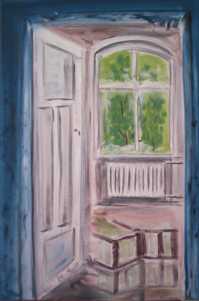"""Verfall"" Leinwand 60 x 40 cm"