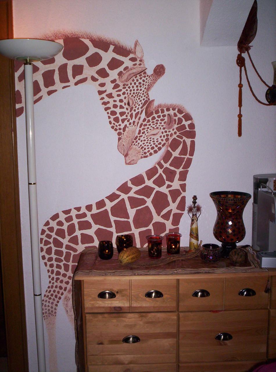 Giraffen im Esszimmer