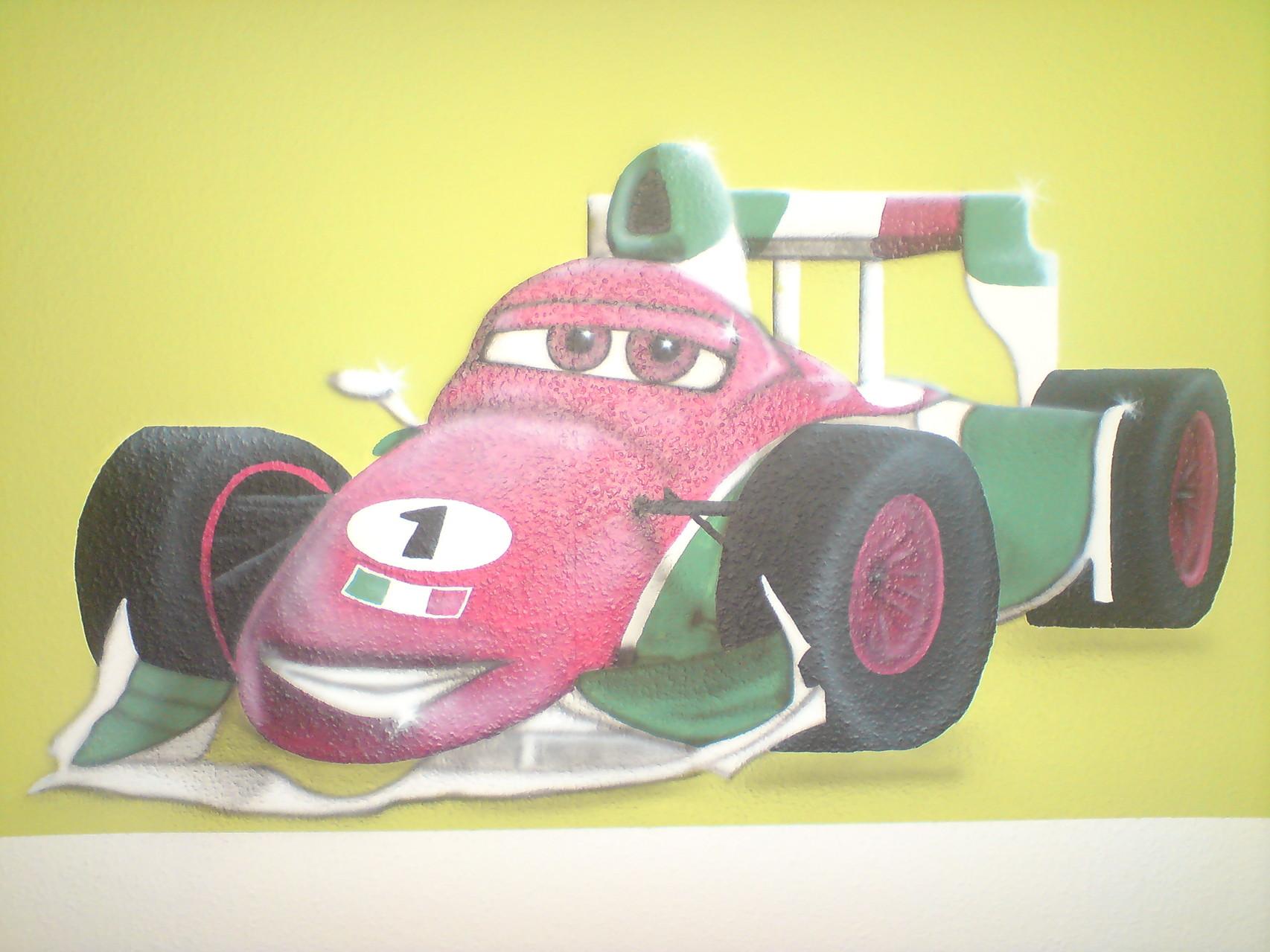 Francesco von Cars im Kinderzimmer