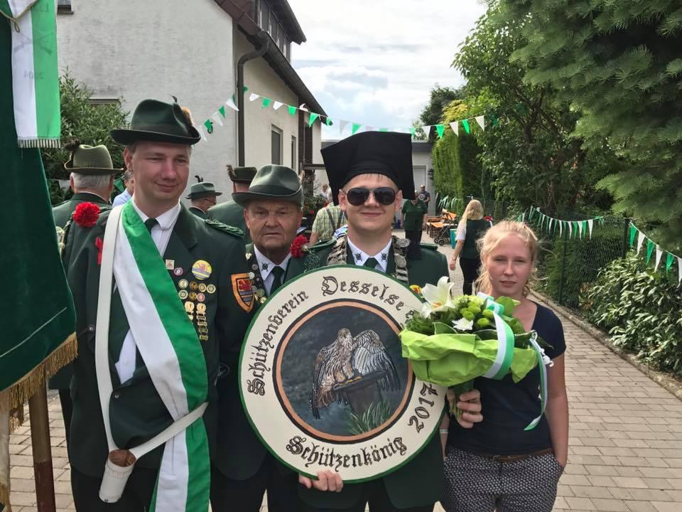 Schützenkönig 2017 - Malte Kanus