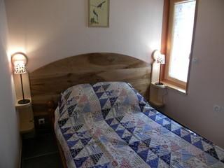 la chambre au lit double