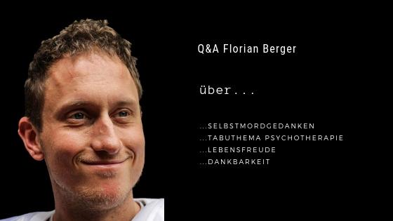 Podcastfolge 4: Q&A Florian Berger - Zurück ins Leben