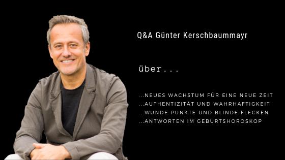 Podcastfolge 5: Q&A Günter Kerschbaummayr - Neues Wachstum für eine neue Zeit