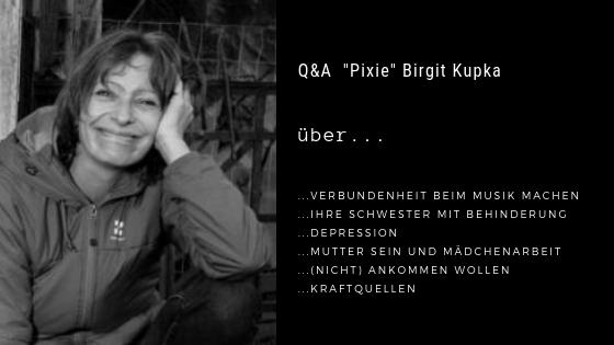 """Podcastfolge 8: Q&A """"Pixie"""" Birgit Kupka - Du bist richtig, wie du bist"""