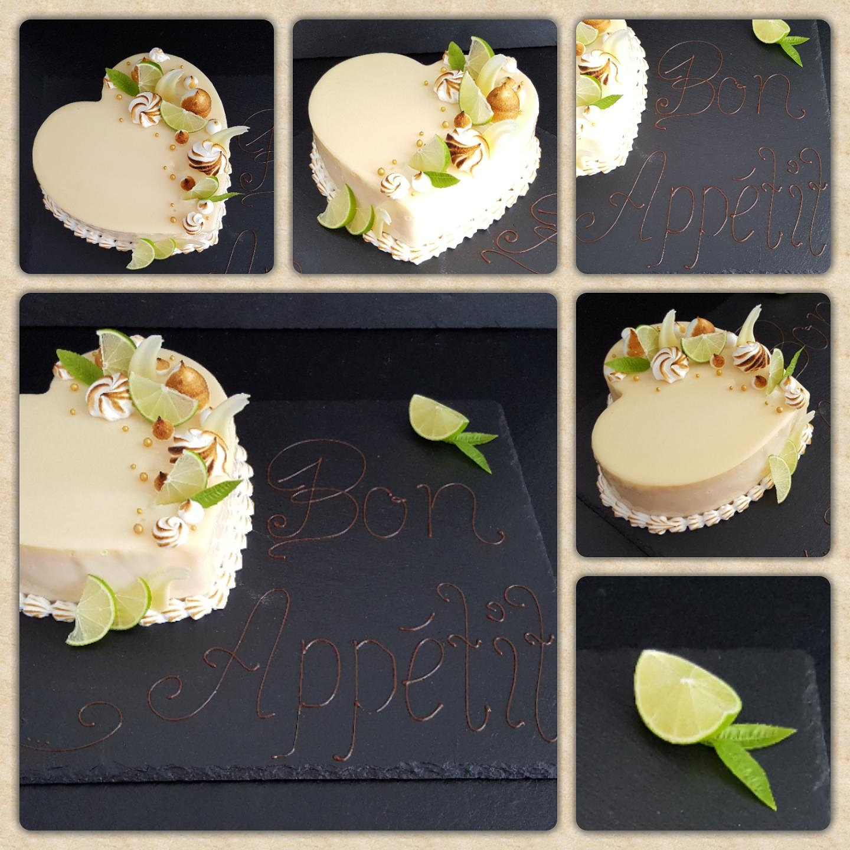 Bon Appetit Torte mit Mirror Glaze und Basier