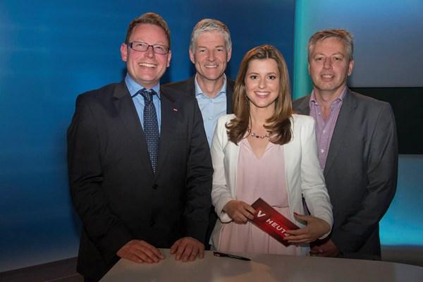 2014 LPC Besuch beim ORF Landesstudio Voralrberg, Bild: Exclusiv.li, Albert Mennel