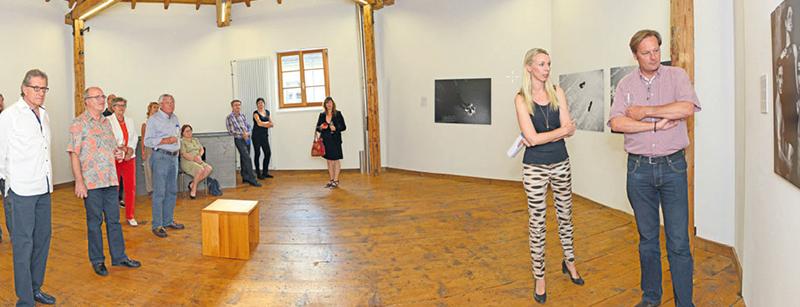 Juli 2014 LPC zu Besuch bei der Liechtensteinischen Gesellschaft für Photographie im Kulturzentrum Gasometer in Triesen