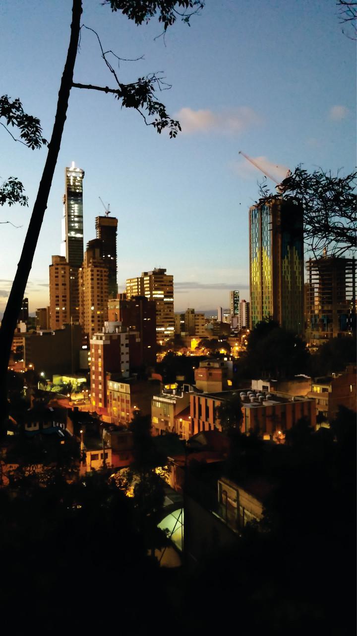 Atardecer en Bogotá