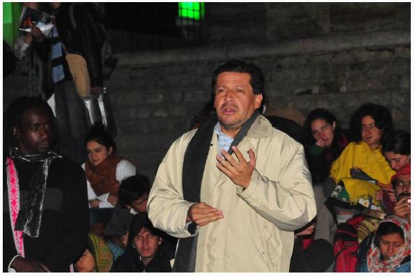 Agregado Cultural de la Embajada del Peru.