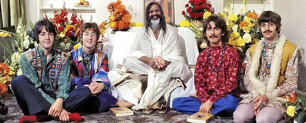 Maharishi Mahesh Yogi y los Beatles