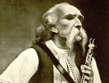 El bardo o Guslari, para los eslavos del sur / foto facebook