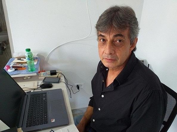 Robinson Quintero Ossa, poeta homenajeado en el XXIX Festival Internacional de Poesía de Bogotá, 2021. Del 10 al 15 de mayo.