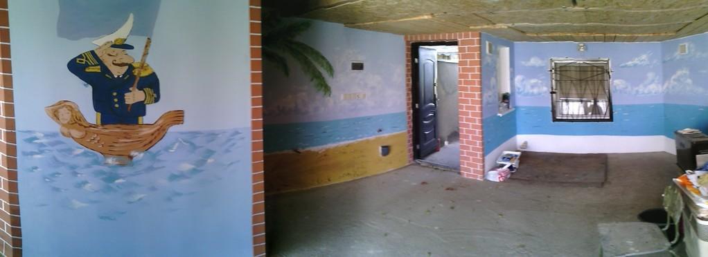 Почти общий вид гаража.