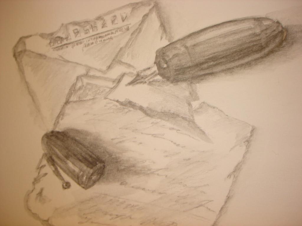 """обманка"". Бумага, карандаш водорастворимый"