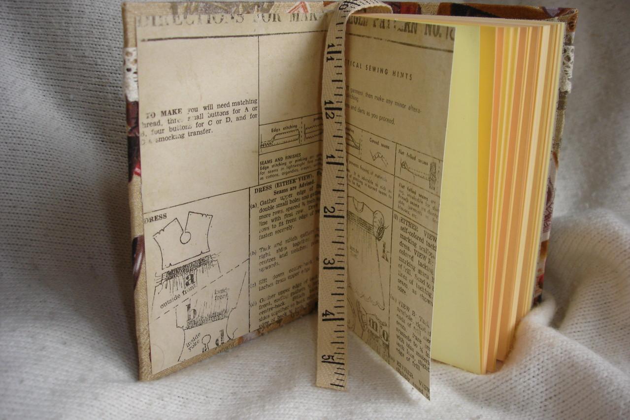 """Тематические форзацы и разделители, цветные листы, текстильная закладка-""""сантиметр"""""""