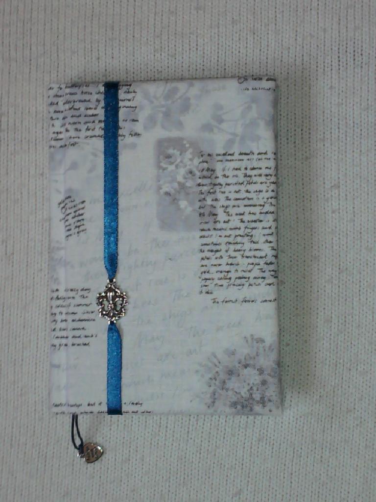 """""""Письма"""" А6, обложка - лен,лента, метал.декор"""