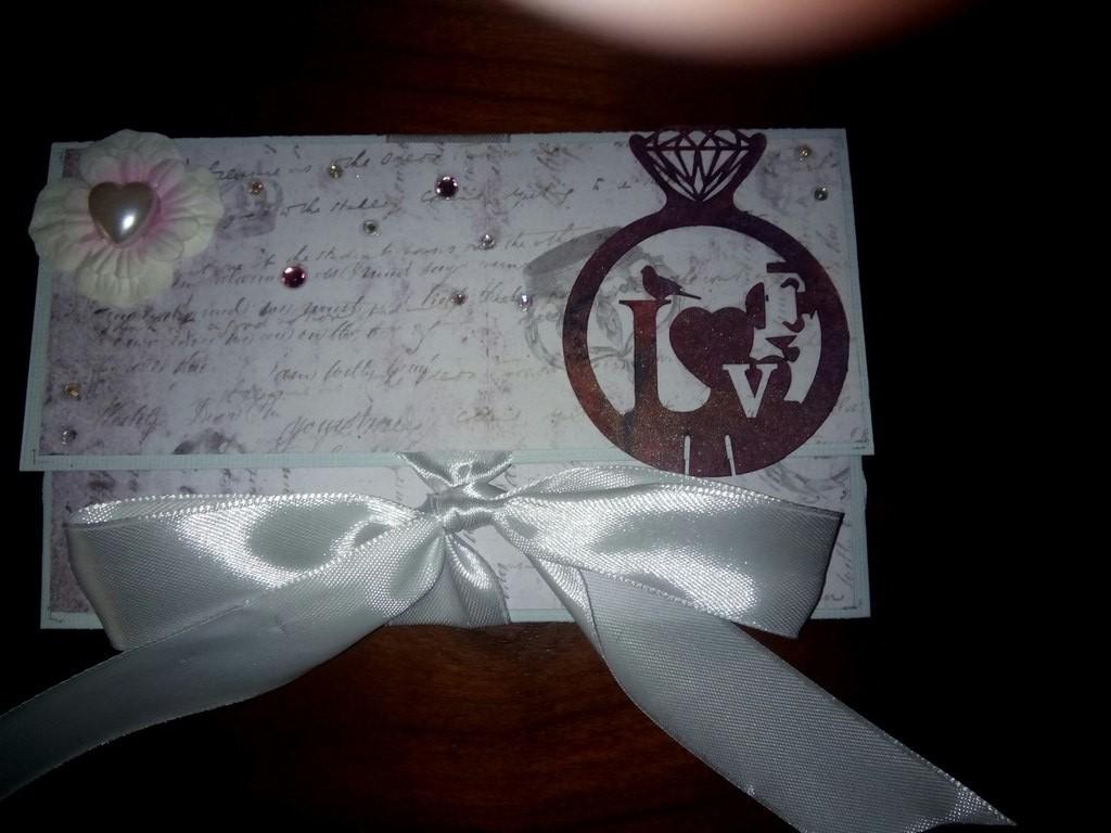 Открытка-конверт, 10х17