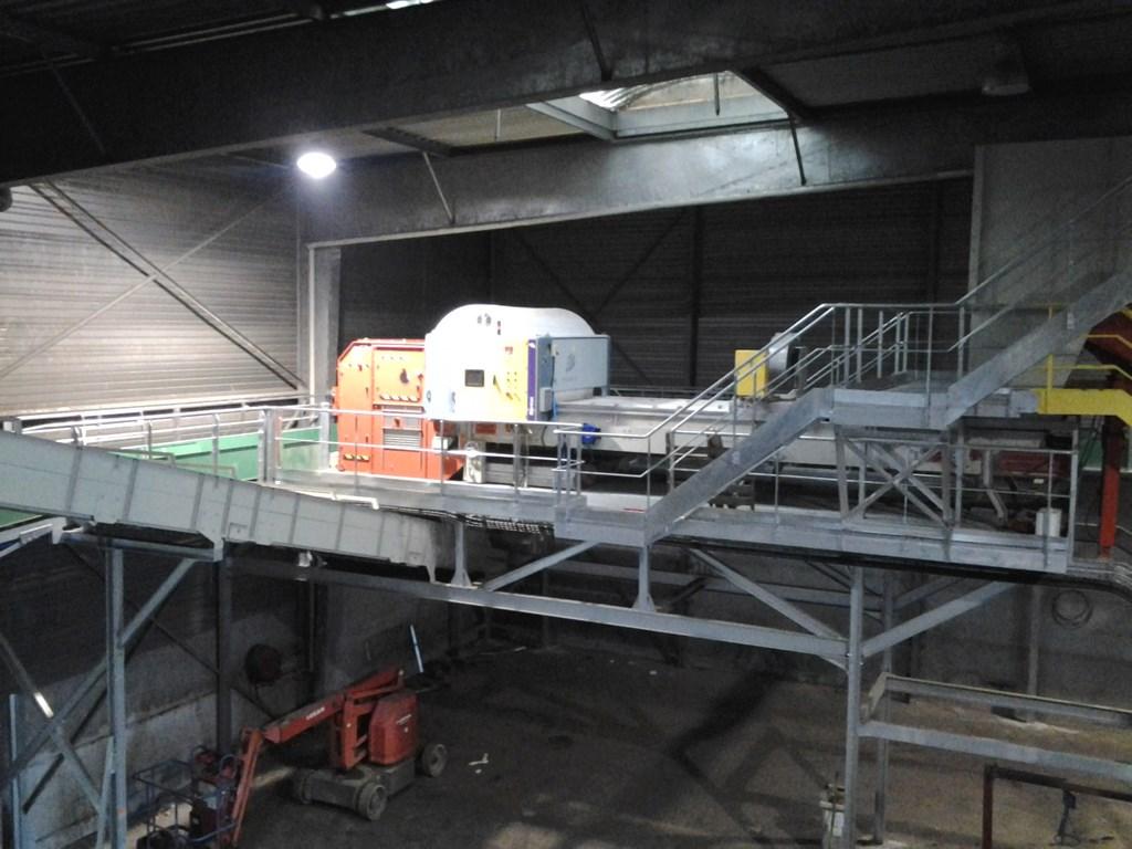Mise en place Process dans une usine de traitement des déchets à TRIEL. Mission SPS Niveau 2.