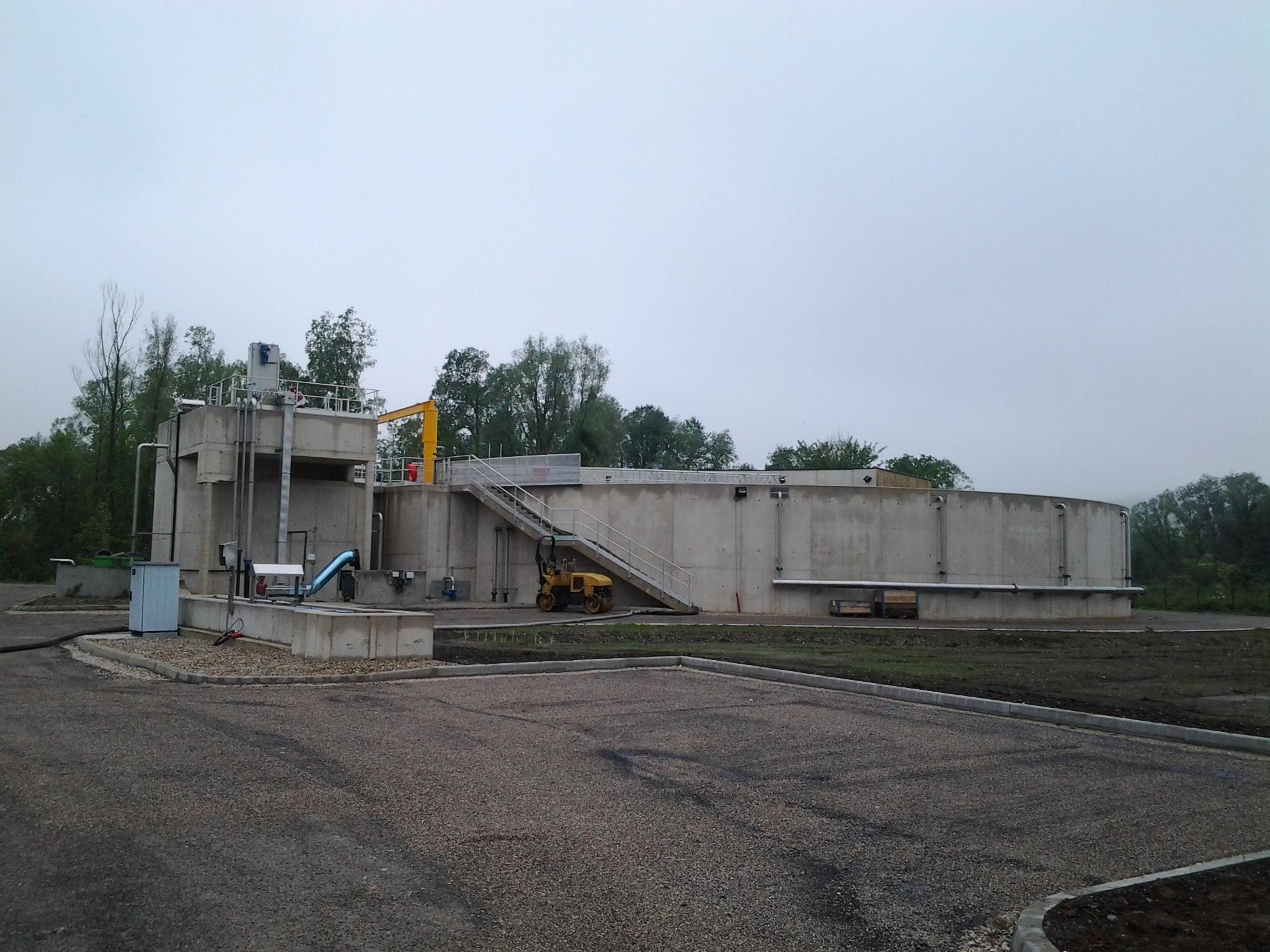 Station épuration à GAMACHES. Mission SPS Niveau 2.