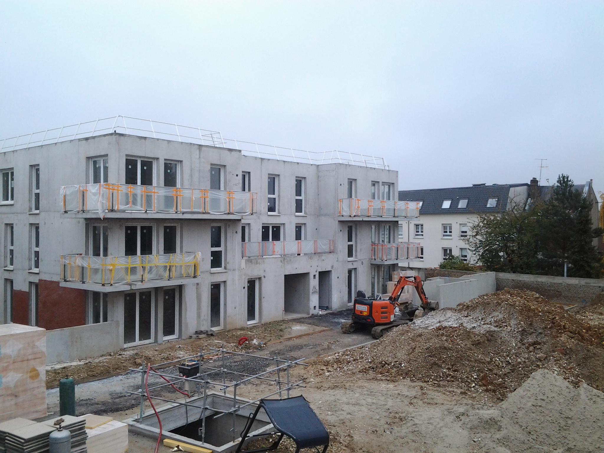 Immeubles de logements à AMIENS pour un office public HLM. Mission SPS Niveau 2.