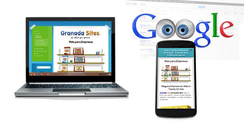 Google penaliza Webs no adaptadas para móviles