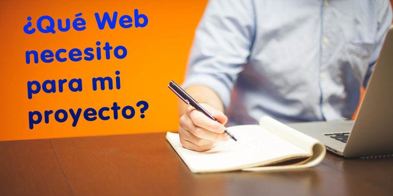 Necesito Web profesional o genérica