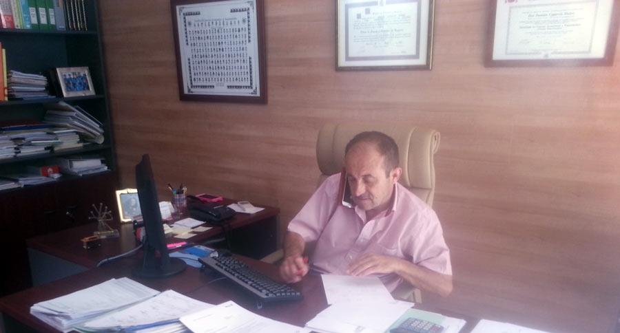 Damián Caparrós, corredor de seguros