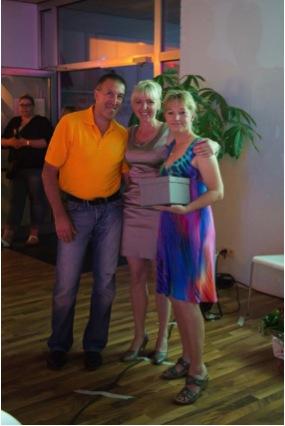 Ladiesfirst Hamm Clubgeburtstag und Neueröffnung Kirsten Bruennichund Freunde